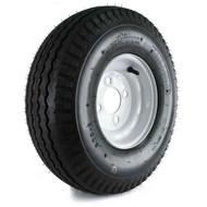 "Loadstar 570-8 4 Lug 8"" Bias Trailer Tire - White"