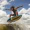 Connelly Benz Wakesurf Board Action