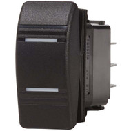 Blue Sea Contura Black Rocker Switch