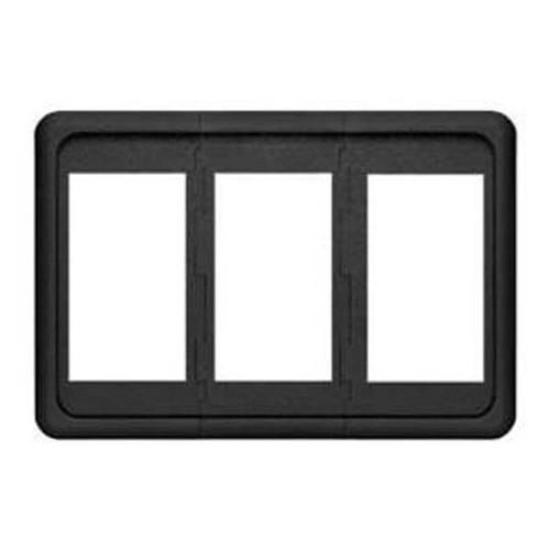 Blue Seas Systems Contura Switch Mounting Panel - 3 Position