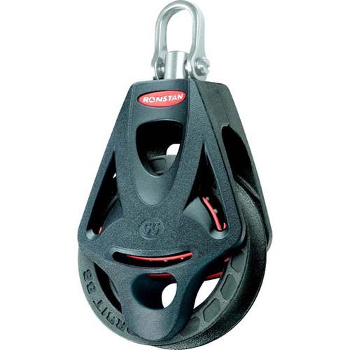 Ronstan Series 55 Ball Bearing Orbit Block™ - Single - Becket - Swivel Head