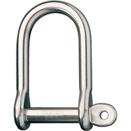 "Ronstan Wide Dee Shackle - 1\/2""Pin - 2-11\/16""L x 1-5\/16""W"
