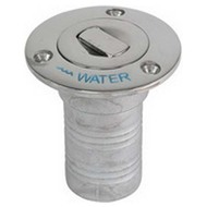 Whitecap Industries Push-Up Stainless Steel Deck Fill - Water