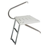 JIF Marine O/B Transom Platform Ladder