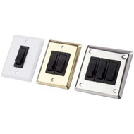 Sea Dog Stainless Steel Wall Switch Panel