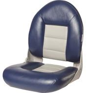 Tempress NaviStyle High Back Folding Boat Seat Navy