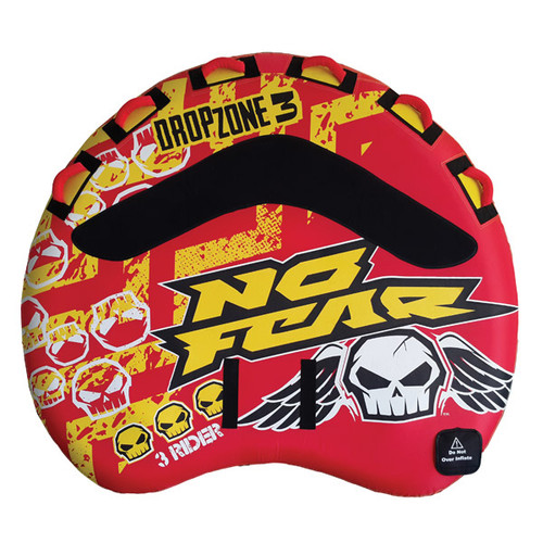 No Fear Dropzone 3 Towable Tube