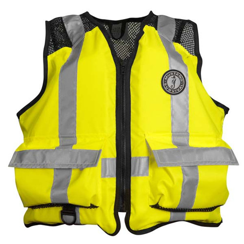 Mustang Survival ANSI High-Visibility Industrial Mesh Vest
