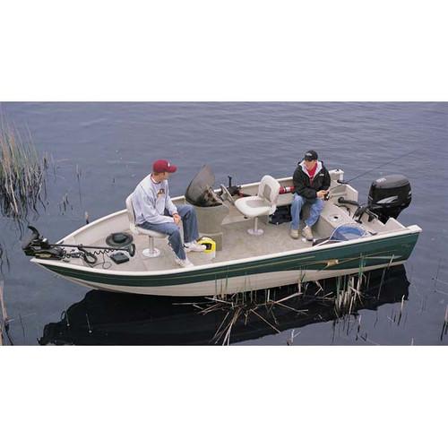 Aluminum Fishing Boat Cover Boat Guard 14 - 16ft