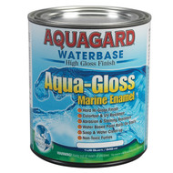 Aquagard Aqua-Gloss Water-Based Marine Enamel - Quart