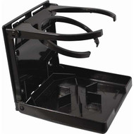Attwood Dual Ring Fold-Up Drink Holder - Black