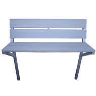 Patriot Docks Gray Aluminum Bench Kit