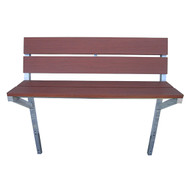 Patriot Docks Brown Aluminum Bench Kit