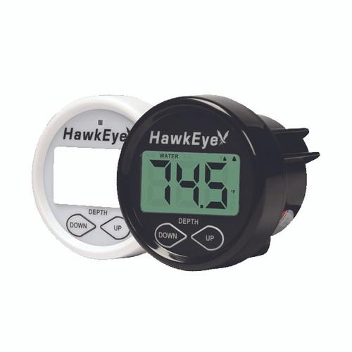 Hawkeye In-Dash Depth Finder w/ Thru-Hull Transducer