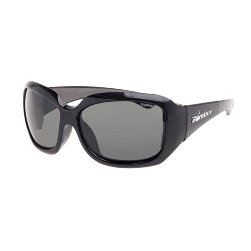 Bomber Women's Sugar Bombs Floating Sunglasses Polarized Black/Smoke