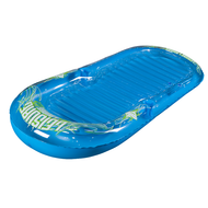 HO Blue Leisure Lounge Floating Mattress