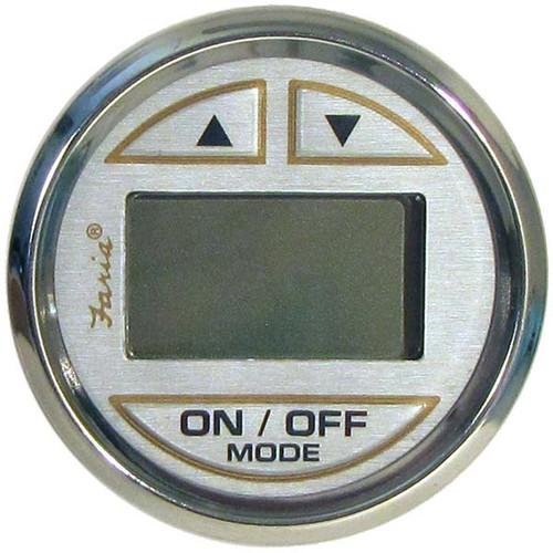 "Faria Kronos Depth Sounder w/ In-Hull Transducer - 2"""