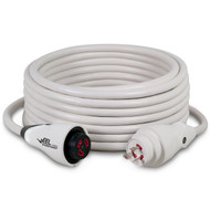 Marinco EEL 50' Shore Power Cordset 30Amp - White