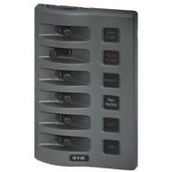 Blue Sea WeatherDeck Waterproof Fuse Panel - 6 Switch