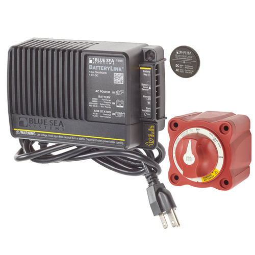 Blue Sea Mini Add-a-Battery Plus Kit 65Amp