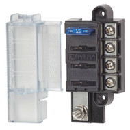 Blue Sea Systems Compact  4 Circuit Fuse Block