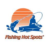 Rend Lake Fishing Map