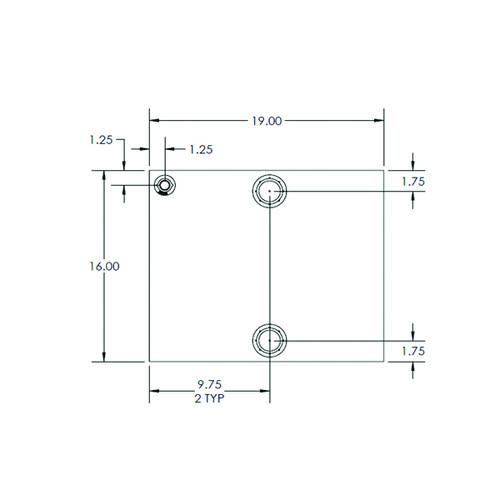 Moeller 040232 76 Gallon Water Tank