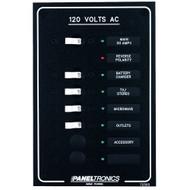 Paneltronics Standard AC 6 Position Breaker Panel & Main w\/LEDs