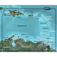 Garmin BlueChart g2 Vision HD - VUS030R - Southeast Caribbean - microSD\/SD