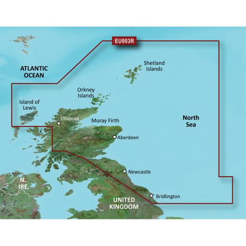 Garmin BlueChart g2 Vision HD - VEU003R - Great Britain, Northeast Coast - microSD\/SD
