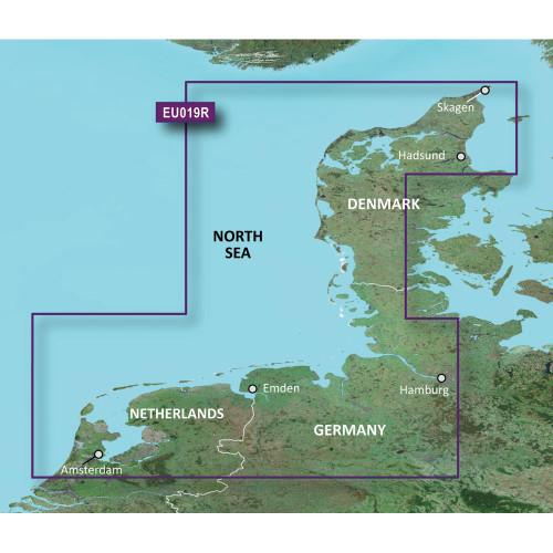 Garmin BlueChart g2 Vision HD - VEU019R - Alborg to Amsterdam - microSD\/SD