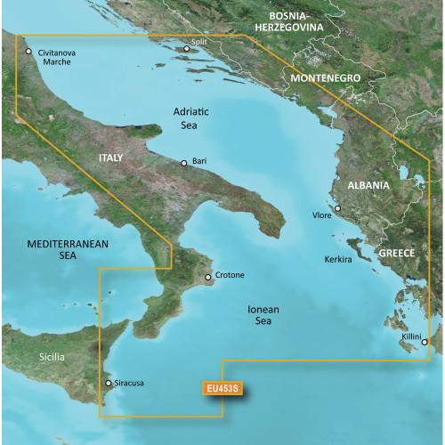 Garmin BlueChart g2 Vision HD - VEU453S - Adriatic Sea, South Coast - microSD\/SD