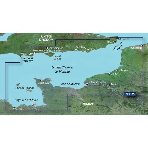 Garmin BlueChart g2 Vision HD - VEU465S - The Solent & Channel Islands - microSD\/SD