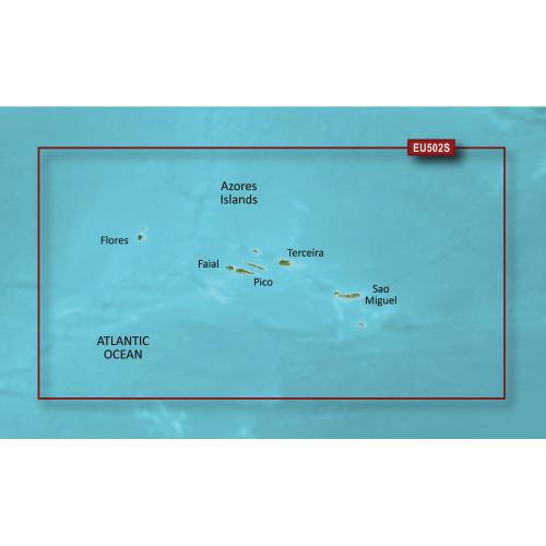 Garmin BlueChart g2 Vision HD - VEU502S - Azores Islands - microSD\/SD