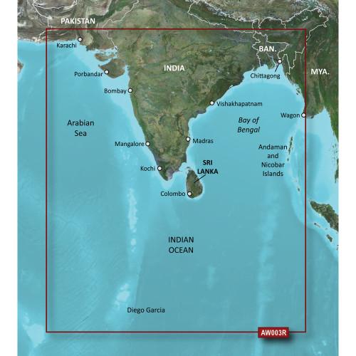 Garmin BlueChart g2 Vision HD - VAW003R - Indian Subcontinent - microSD\/SD