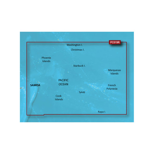 Garmin BlueChart g2 Vision HD - VPC019R - Polynesia - microSD\/SD