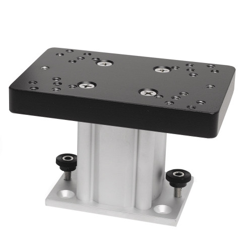 Cannon Aluminum Fixed Base Downrigger Pedestal - 4""
