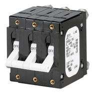 Paneltronics 'C' Frame Magnetic Circuit Breaker - 100 Amp - Triple Pole - White