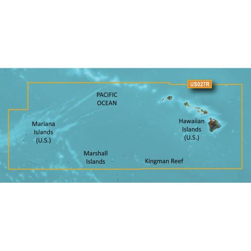 Garmin BlueChart g2 HD - HXUS027R - Hawaiian Islands - Mariana Islands - microSD\/SD