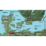 Garmin BlueChart g2 HD - HXEU021R - Denmark East & Sweden Southeast - microSD\/SD