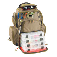Wild River NOMAD Lighted Tackle Backpack w\/4 PT3600 Trays