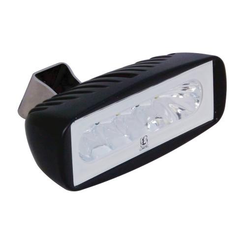 Lumitec Caprera2 - LED Flood Light - Black Finish - 2-Color White\/Red Dimming