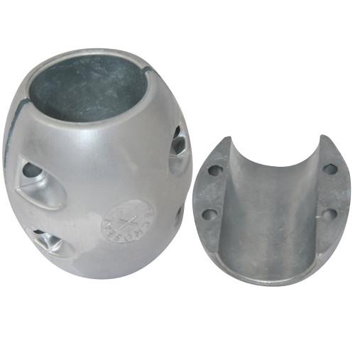 "Tecnoseal X10AL Shaft Anode - Aluminum - 2-1\/4"" Shaft Diameter"