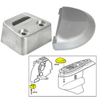 Tecnoseal Anode Kit w\/Hardware - Volvo SX - Zinc