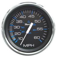 "Faria Chesapeake Black SS 4"" Speedometer - 60MPH (Mechanical)"