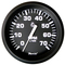 """Faria Euro Black 4"""" Tachometer - 7,000 RPM (Gas - All Outboard)"""