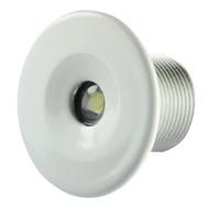 Lumitec Echo Courtesy Light - White Housing - Warm White Light