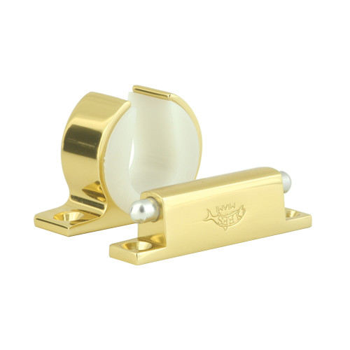 Lee's Rod And Reel Hanger Set - Shimano Tiagra 130 - Bright Gold