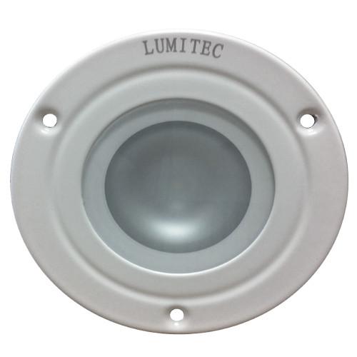 Lumitec Shadow - Flush Mount Down Light - White Finish - Spectrum RGBW