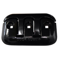 "Dock Edge Flip-Up Dock Cleat - 8"" - Black"